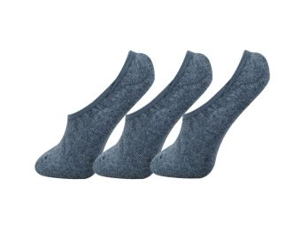 Harga FORBAREFEET Thick FootSocks with Gel Pack of 3 (Grey)