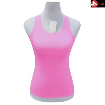 Harga Spandex Body Fit Tank Tops (Pink)