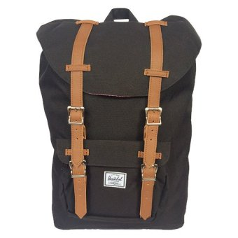 Herschel Supply Co. Little America Backpack (Black/Tan) Price Philippines