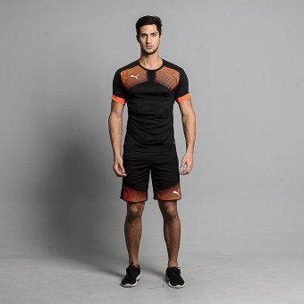 Harga Puma IT evoTRG Graphic Tee (Black/Red Blast)