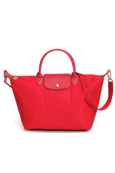 Harga Longchamp Le Pliage Néo Medium Short Handle (Poppy)