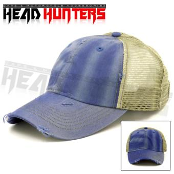 Harga HEAD HUNTER Denim Design Baseball Cap Design - Narrow Brim (Denim)