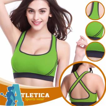 Atletica Fitness Seamless Active Sports Bra (Yellow Green) Price Philippines