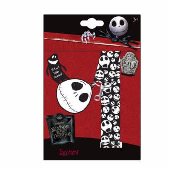 Harga Nightmare Before Christmas Lanyard with Charm and ID Holder