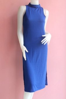 Harga Zaidelyn Dress (Plain Royal Blue)