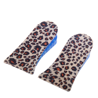 Unisex 4cm up 2 layers Height Increase Silicone Gel Insole Shoes Heel Lift Pads Price Philippines