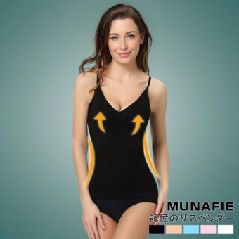 Japan Tech Munafie Slimming Camisole Sando (Black) Price Philippines