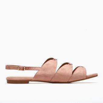 Harga Parisian Plus Ladies Paris Flat Sandals (Blush)