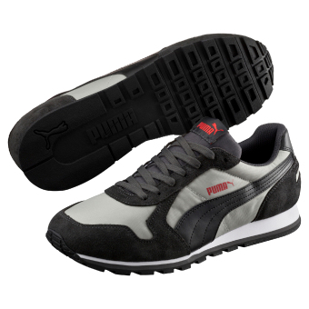 Harga Puma ST Runner Nylon Running Shoes (Drizzle/ Black)