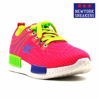 New York Sneakers Flick Rubber Shoes(PINK) Price Philippines