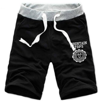 Amango Jogger Sport Short Baggy (Black) Price Philippines