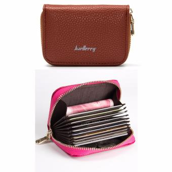 Baellerry Leather Coin Purse Wallet (Coffee) Price Philippines
