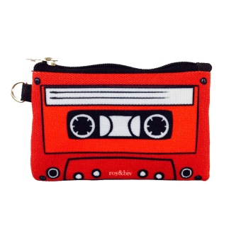 Harga Roy & Biv Cassette Coin Purse (Red)