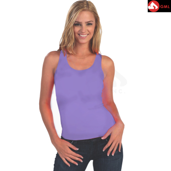 Harga Spandex Body Fit Tank Tops (Lavender)