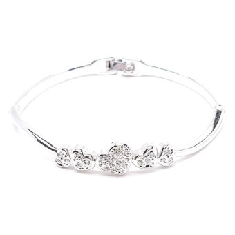 Harga Paris Bijoux BB11787A Bangle (Silver)