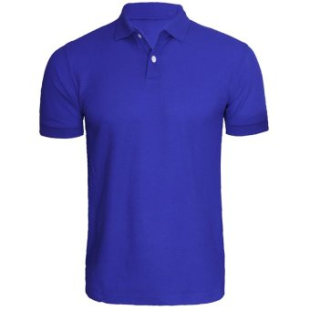 Harga Lifeline Polo Shirt (Royal Blue)