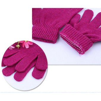 Amango Magic Gloves Kid Stretchy Knitted Winter Random Color Price Philippines