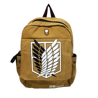 Anime - Attack on Titan Scouting Legion Back Pack ( Brown ) Price Philippines