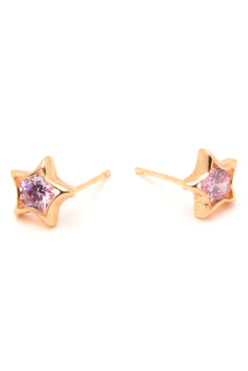 Harga Jewelrista EAR011 Earrings (Rose Gold)