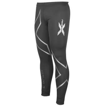 Muscle Containment Stamping Compression Tights (Black Silver) Price Philippines