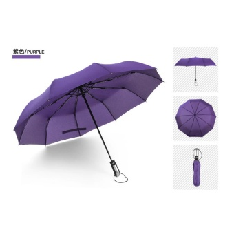 Harga Explosion automatic umbrella 10K seventy percent off umbrella (purple) - intl
