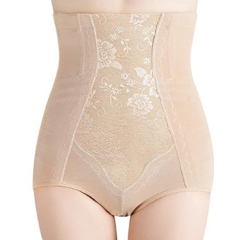 Harga Victory Postpartum Shapewear Tall waist UltraSlim Corset Beautiful body underwear High elastic soft (White) - intl