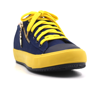 Harga New York Sneakers Mei Low Cut Shoes (NAVY)