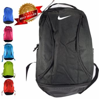Harga Back pack Nike Dual Zipper North Lakes (Black)