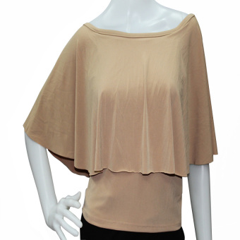 Harga Marian Off Shoulder Top (Beige)