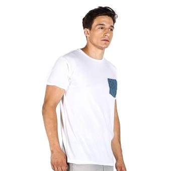 Penshoppe Semi Fit Tee With Pocket Detail (White) Price Philippines