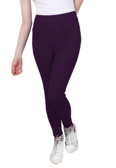 Harga Cotton Republic Shiny Slim Leggings (Raisin)