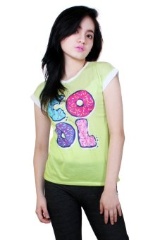 Cool Casual Round Neck Shirt (Green) Price Philippines