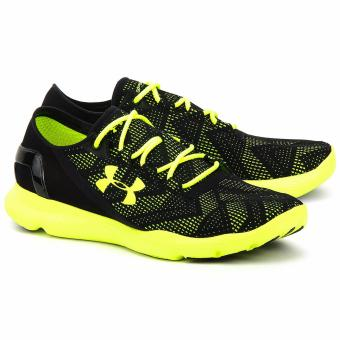 New and Authentic Under Armour Ua Speedform Apollo Us 9.5 Black / Green Price Philippines