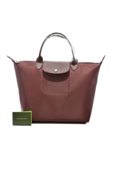 Harga Longchamp Le Pliage Neo Medium Short-handle (Burgundy)