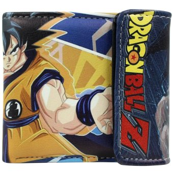 Harga Anime Zone Dragon Ball Son Goku Trendy Printed Leather Wallet