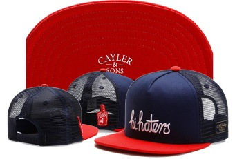 Unisex Cayler Sons Black Label Hi Haters Trucker Snapback Hat Price Philippines