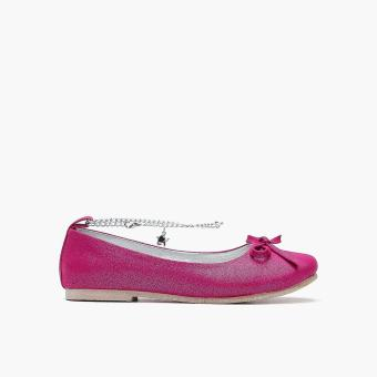 Sugar Kids Girls Cyrilla Ankle-strap Flats (Dark Pink) Price Philippines