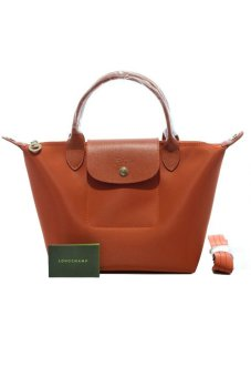 Harga Longchamp Le Pliage Neo Medium Short-handle (Paprika)