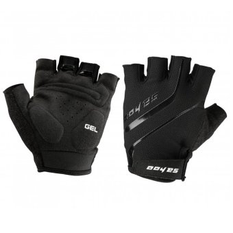 Harga GoSport SAHOO Womens GEL Cycling Half FInger Gloves XL (Black)