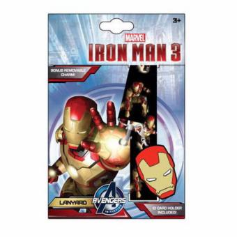 Harga Iron Man Lanyard with Charm and ID Holder