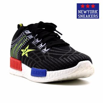 New York Sneakers Flick Rubber Shoes(BLACK) Price Philippines