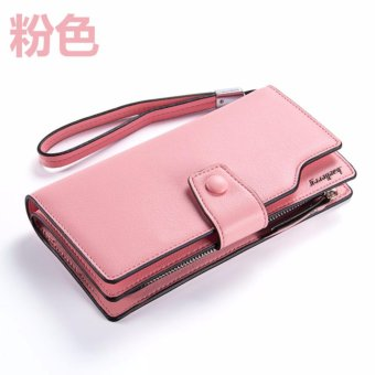 Baelerry Leather Women Wallet Trending (LightPink) Price Philippines