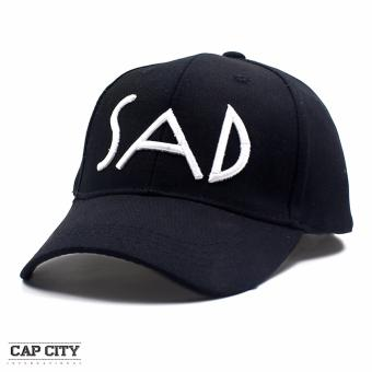 Harga Cap City Unisex Hip Hop Sad Sports Cap (Black)