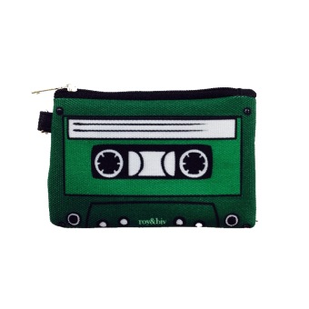 Harga Roy & Biv Cassette Coin Purse (Green)