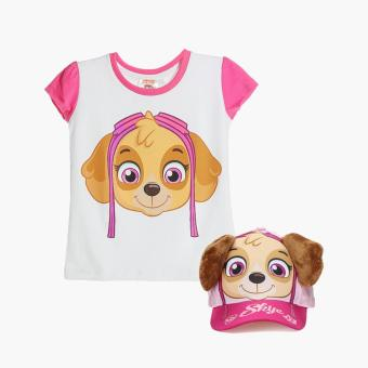 Paw Patrol Girls Skye Tee and Cap Set (Size 8) Price Philippines