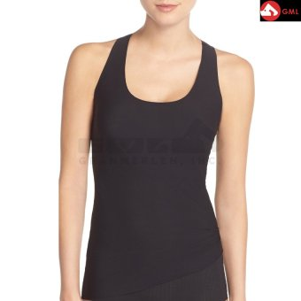 Harga Spandex Body Fit Tank Tops (Black)