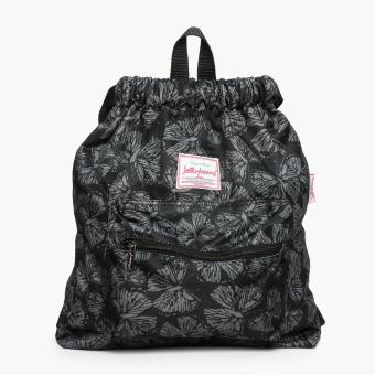 Harga Jellybeans Ladies Butterfly Backpack (Black)