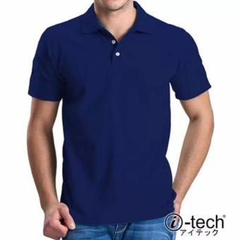 I-tech Blank Polo Shirt (Royal Blue) Price Philippines