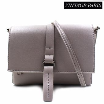 Harga Vintage Paris Kendall Shoulder Sling Bag (Grey)