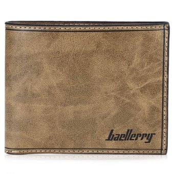 Baellerry Transverse Wallet Leather Credit Card Bifold Purse for Men - Intl Price Philippines